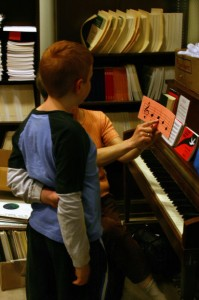 Getting kids interested in music