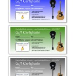 Guitar Lessons SF Gift Certificates 3